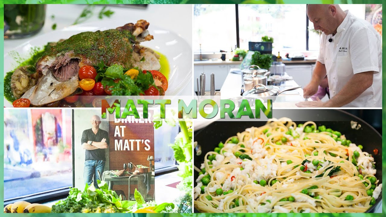 Matt Moran Cooking With Scanpan