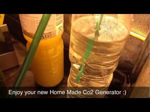 Home Made Plant CO2 Generator Tutorial HD