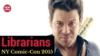 NYCC 2015: Christian Kane de The Librarians