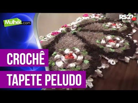 Mulher.com 27/02/2013 Marcelo Nunes - Tapete barbante peludo  parte 2