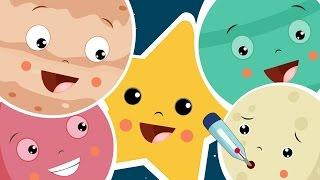 getlinkyoutube.com-The Planet Song | Nursery Rhyme With Lyrics | Solar System Song For Children