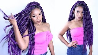 getlinkyoutube.com-Havana Twist CROCHET BRAIDS - Invisible Method