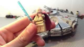 getlinkyoutube.com-Lego Star Wars Millennium Falcon Set Review