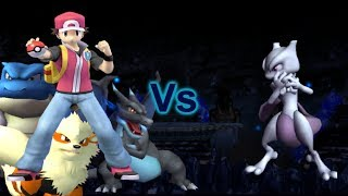 getlinkyoutube.com-SSBB Dolphin Emulated: Red Vs Mewtwo