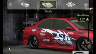 getlinkyoutube.com-Need For Speed Underground 2- How to make the   Mitshubishi Evo 8 from FaF Tokyo Drift