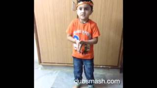 getlinkyoutube.com-Cutest Telugu dubsmash ever by charming Kid