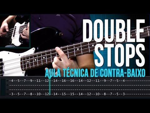 Double Stops (aula t�cnica de contra-baixo)