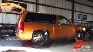 getlinkyoutube.com-Ekstensive Tahoe 2 Door on 28'' Wheels / Rims Headers Intake SHP Engine Programming Tuning 295Rwhp