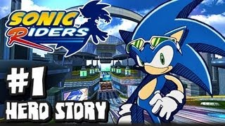 getlinkyoutube.com-Sonic Riders - (1080p) Hero Story - Part 1