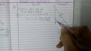 Chapter 6 Exercise 6.5 (Q1 Q2) || Triangles|| class 10 maths
