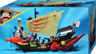 getlinkyoutube.com-bela 닌자고 마스터 우의 드래곤 전함 레고 중국 짝퉁 조립 리뷰 Lego knockoff 9446 Ninjago DESTINY's BOUNTY Ship