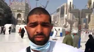 توبة مغني الراب ''عيسى'' في مكة المكرمة ماشاء الله Aissa 2016