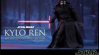 getlinkyoutube.com-Hot Toys MMS 320 Kylo Ren Figure Review