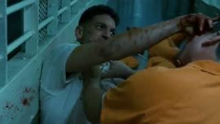 getlinkyoutube.com-Daredevil - Punisher Prison fight Scene (HD 1080p)