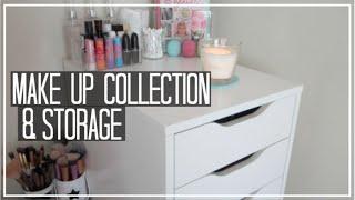 getlinkyoutube.com-Make Up Collection & Storage | LifewithChloe