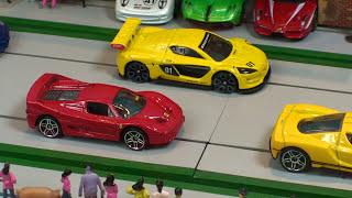 getlinkyoutube.com-STREET RACE  Hot Wheels  Supercar Collection