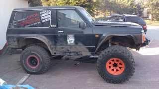 getlinkyoutube.com-Nissan Patrol Y60 swap bmw engine