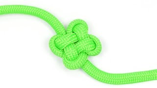 getlinkyoutube.com-How to make a Clover Knot - BoredParacord.com