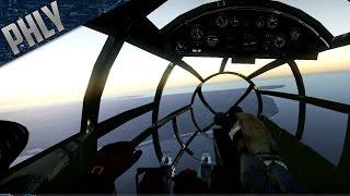 getlinkyoutube.com-War Thunder Gameplay - BOMBER COCKPIT Simulator Battles- He-111