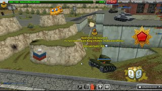 getlinkyoutube.com-Tanki Online Mission Geralissimio // Recruit - Gernalissimo #1 // Gold-box and Rank up mix