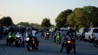 "getlinkyoutube.com-Motorcycle Ride Out ""Detroit Bikers"""
