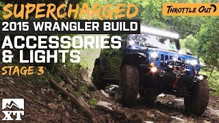 getlinkyoutube.com-Supercharged 2015 Jeep Hits Trails with Lights! – ExtremeTerrain.com