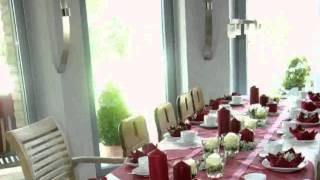 getlinkyoutube.com-Blumendekoration Kommunion -  bilder