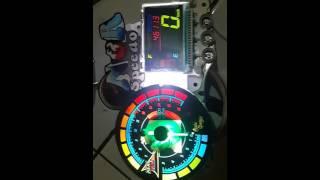 getlinkyoutube.com-Custom speedo indiglow satria fu