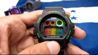 "getlinkyoutube.com-G-Shock DW-069 & DW6900 ""Rainbow"" review - Vintage and Rare"