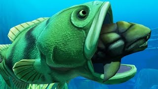 getlinkyoutube.com-INCREDIBLE GOLIATH FISH - Feed and Grow Fish - Part 25 | Pungence
