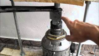 getlinkyoutube.com-Prensa hidráulica caseira (Homemade hydraulic press DIY)