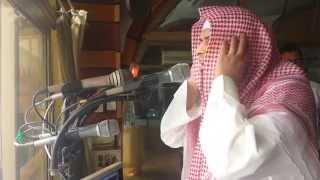 آذان روحاني للشيخ حمد الدغريري من داخل مكبرية الحرم المكي 1435 HD