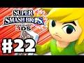 Super Smash Bros. 3DS - Gameplay Walkthrough Part 22 - Toon Link (Nintendo 3DS Gameplay)