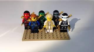 getlinkyoutube.com-Lego Ninjago 2016 Custom Minifigure Showcase!!