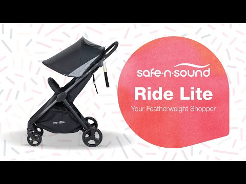 Safe-n-Sound Ride Lite Stroller