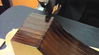 getlinkyoutube.com-How to Stain a MDF Wood Corbel | Federal Brace