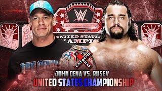 getlinkyoutube.com-WWE Extreme Rules 2015 - John Cena vs Rusev (Russian Chain Match - US Championship) - WWE 2K15