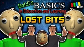Baldi's Basics LOST BITS | Unused Content [TetraBitGaming]