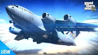 getlinkyoutube.com-화물칸에 탱크를 싣고 하늘을 날 수 있는 수송 비행기?! [카고 플레인 모드: GTA 5] - 울산큰고래