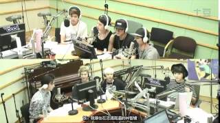 getlinkyoutube.com-140709 GOT7 @ Super Junior's Kiss The Radio [中字]