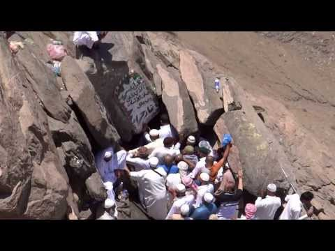Ghar-e-Hira jabl-e-noor on the mountain of Makkah 8 April 2013 in Saudi Arabia