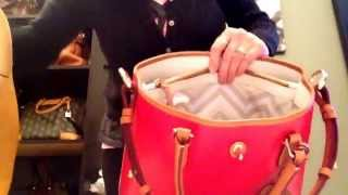 Dooney & Bourke Switching Bags Featuring Shelby Shopper