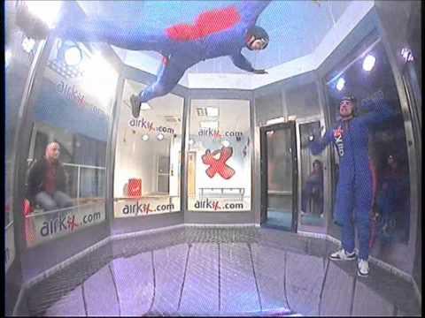 AirKix - Indoor Skydiving - Two Beginners