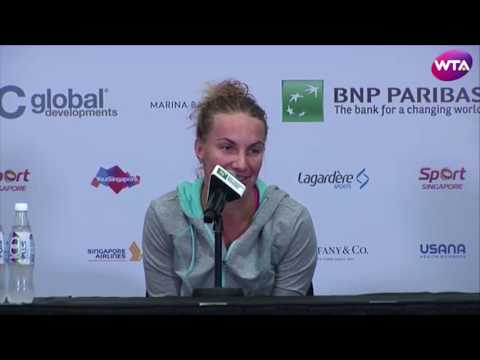 Svetlana Kuznetsova Handles Anything Served Her Way