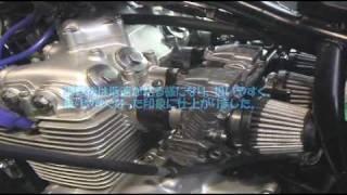 getlinkyoutube.com-honda dream cb400 four with yoshimura exhaust  keihin fcr carburetor setting and installation.