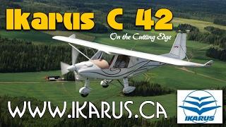 getlinkyoutube.com-Comco Ikarus C42, Light Sport Aircraft in the U.S., Advanced Ultralight in Canada.