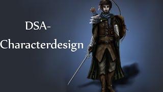 "getlinkyoutube.com-""DSA/ The Dark Eye""- Characterdesign"