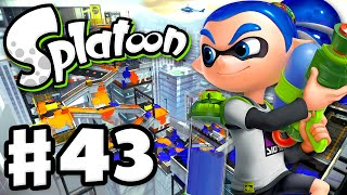 Splatoon - Gameplay Walkthrough Part 43 - Moray Towers! (Nintendo Wii U)