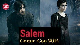 SDCC 2015: Iddo Goldberg e Elise Eberle de Salem