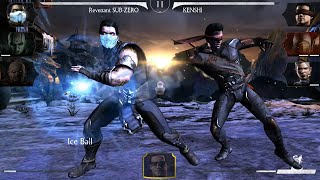 getlinkyoutube.com-Mortal Kombat X Mobile - NetherRealm Characters: X-Rays & All Specials [Android/iOS]